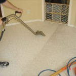 carpet cleaning company at work in the Atlanta Metro region